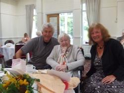 Jennie Cuthbert's 90th birthday1