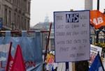 NHS placard pic