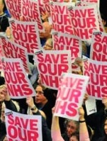 Save our NHS lead