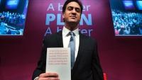 Miliband manifesto launch