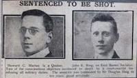 WWI COs sentenced