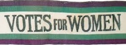 Votes for women scarf ltrbox